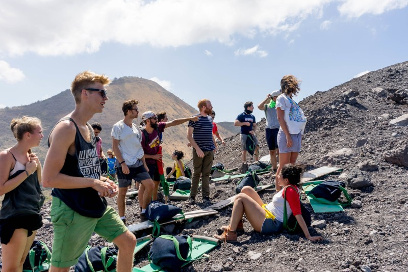 hiking cerro negro