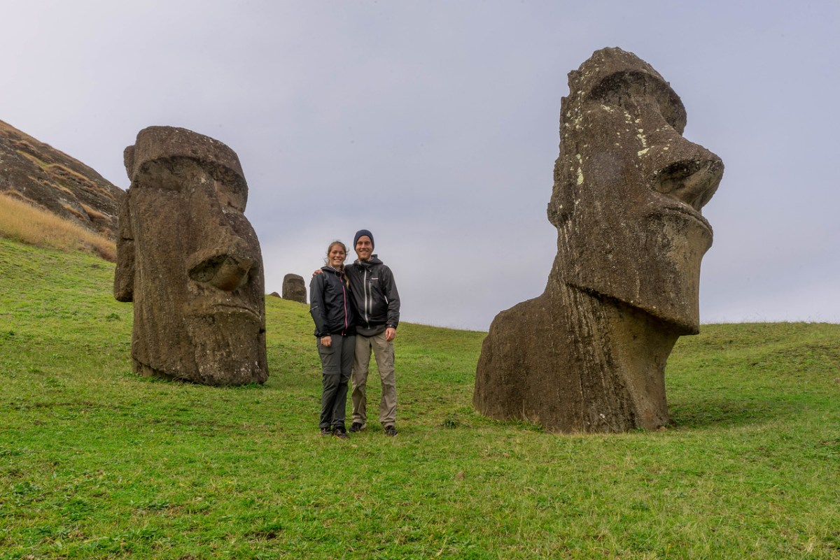 moai på påskeøen
