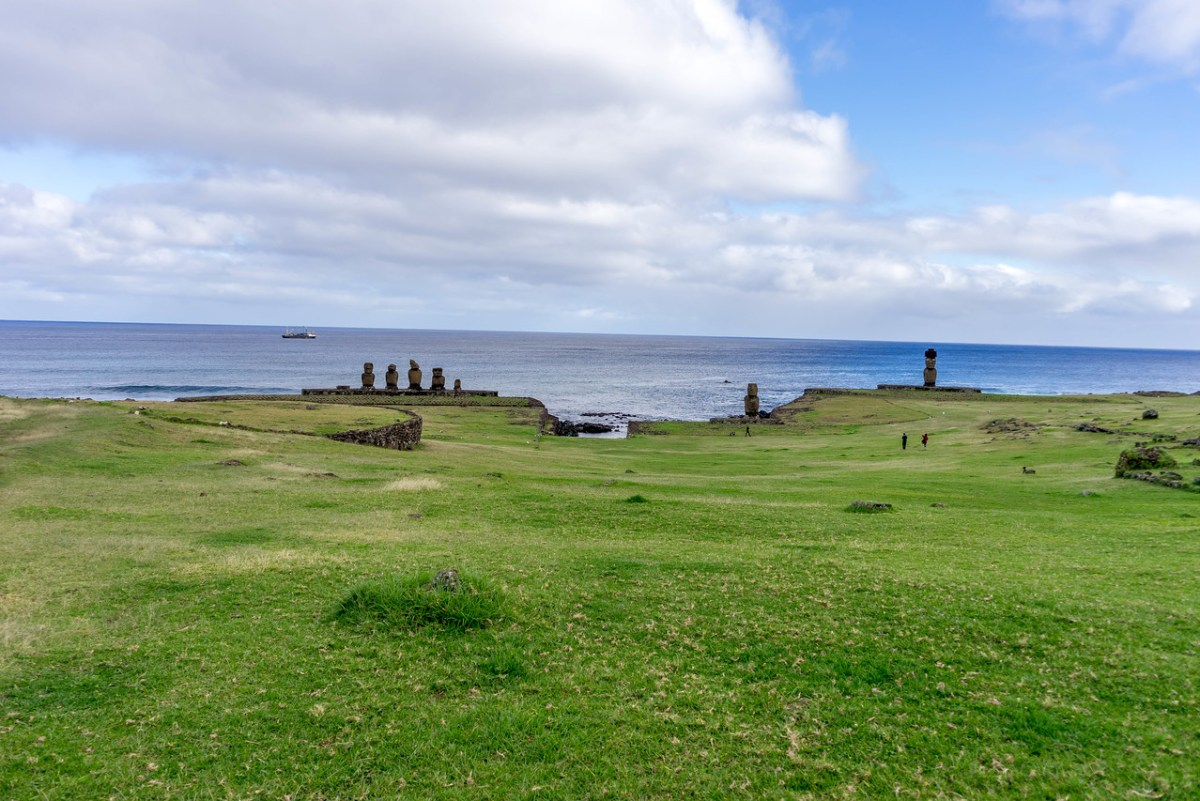 moai ved Tahai