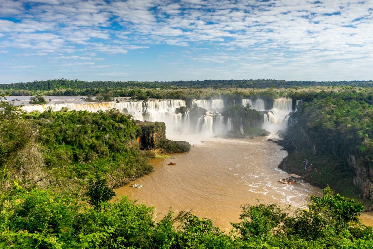 iguaçu falls brasilien