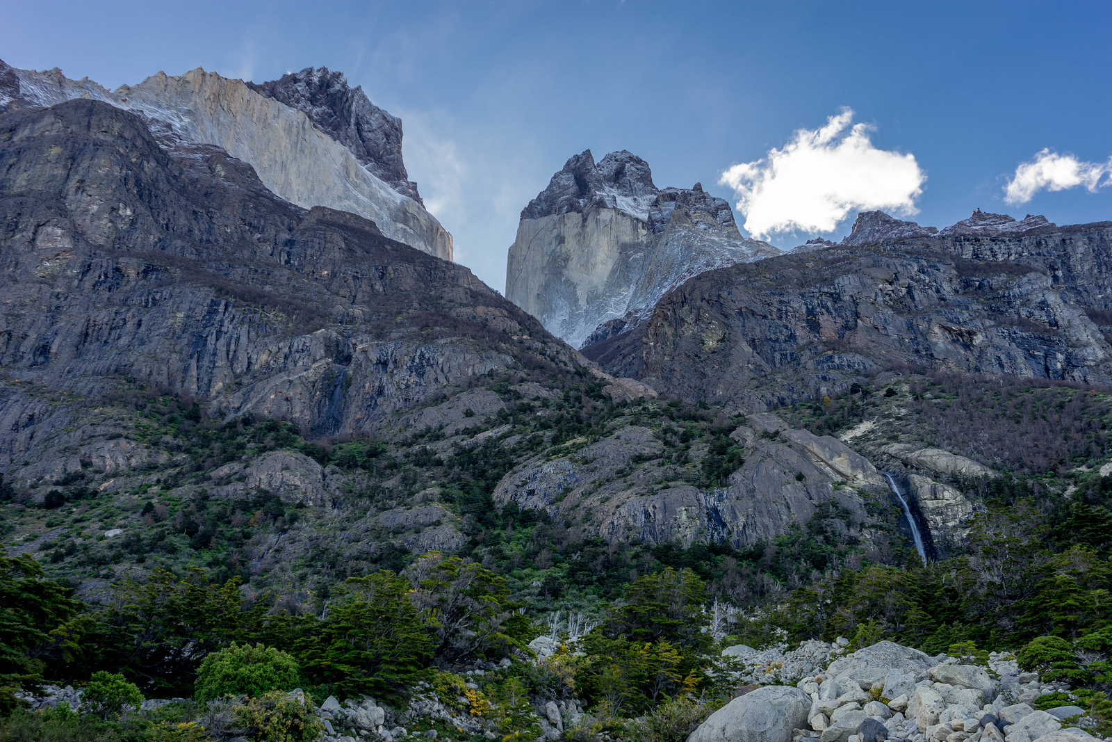 patagonien billeder los cuernos