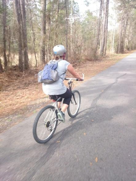 Tammany Trace bike path
