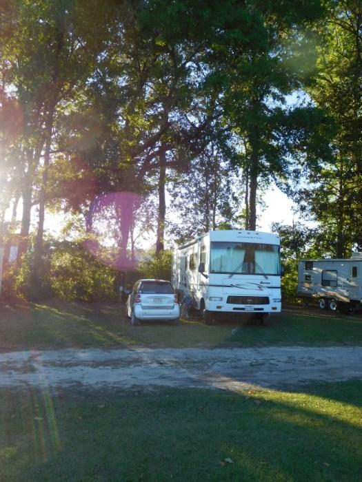 Camping @ the flea market!