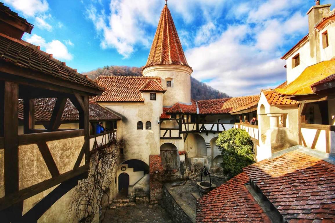 Zamek wampira Drakuli w Branie