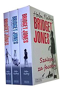 zestaw książek o Bridget Jones - polecane książki dla kobiet