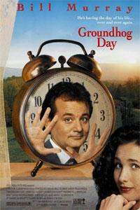 okładka dvd filmu dzień świstaka
