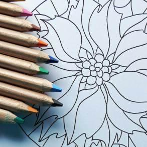 Kolorowanki dla dorosłych - mandala