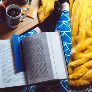 Czytanie książek to dobry sposób na relaks