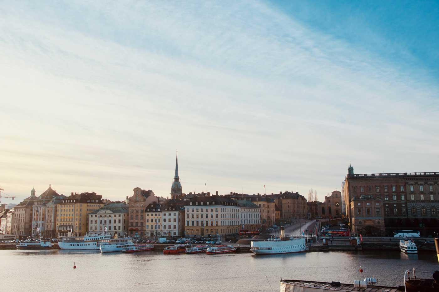 Panorama Sztokholmu