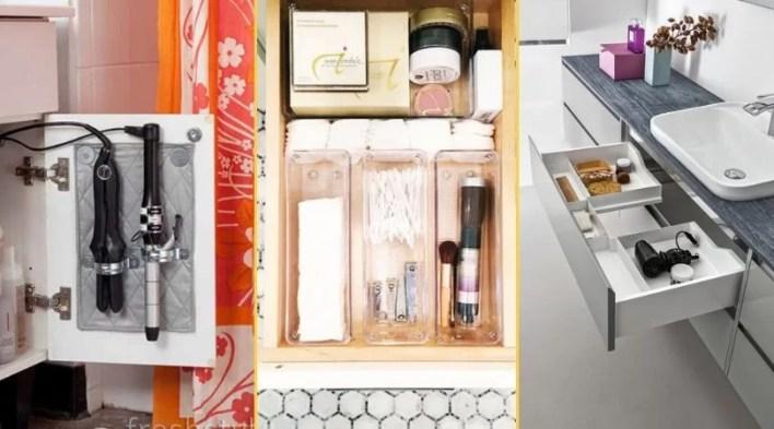 szuflady w łazience