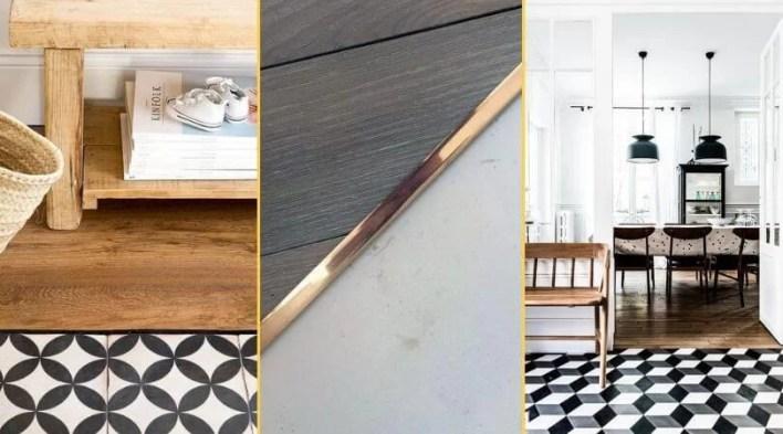 Łączenie podłogi z płytkami listwa elastyczna