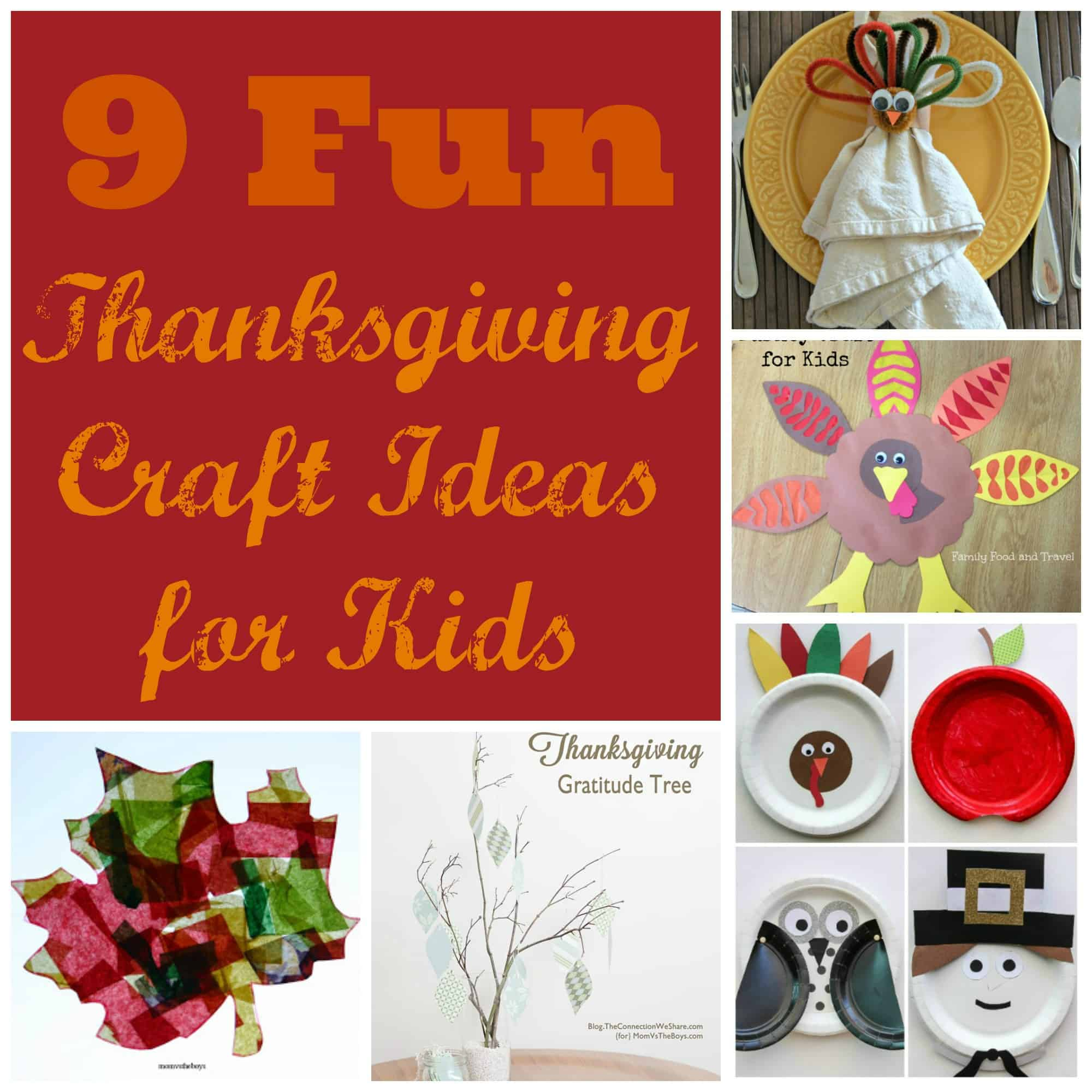 9 Fun Thanksgiving Craft Ideas For Kids