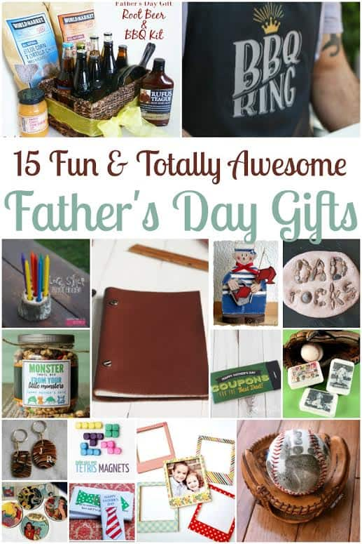 15 Easy Homemade Father S Day Gift Ideas Two Kids And A
