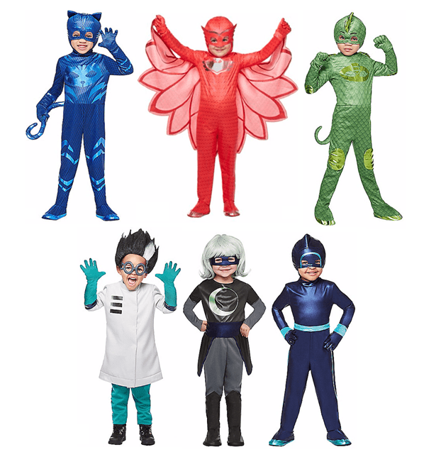 Pj Masks Halloween Costume.Pj Masks Party Punch Plus Pj Mask Costumes Now In Stores
