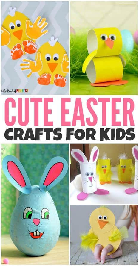 Cute Easter Crafts For Kids Two Kids And A Coupon