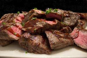 Sous Vide Steak with Balsamic Sauce 2 Ways