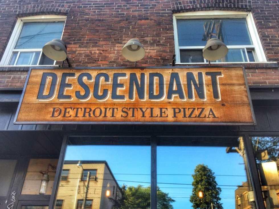 Descendant Detroit Style Pizza – Leslieville, Toronto