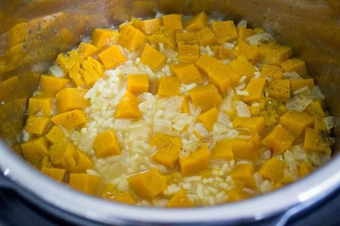 Pumpkin Risotto (Instant Pot)