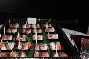 shrimp cocktail in mini cups
