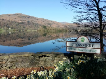 Walking into Grasmere