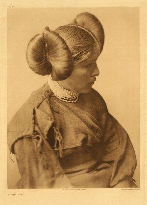 Femme Hopi vers 1840