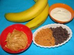 Cooking for Dogs Frozen Banana Bites