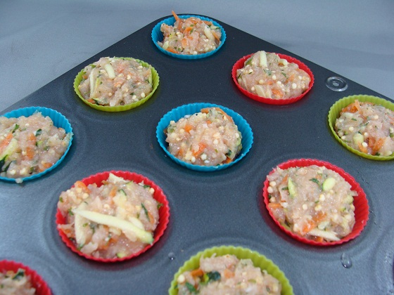 Cooking for Dogs Turkey Meat Loaf Muffins