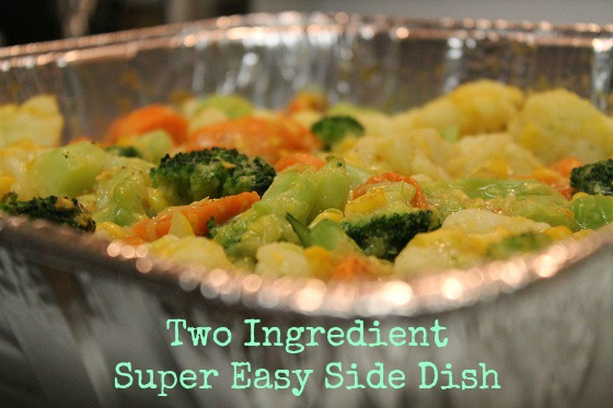 2 Ingredient Super Easy Side Dishes