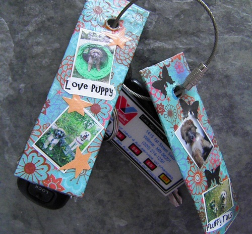 Valentine's Day Craft Brag About the Ones You Love Brag Stick Key Chain