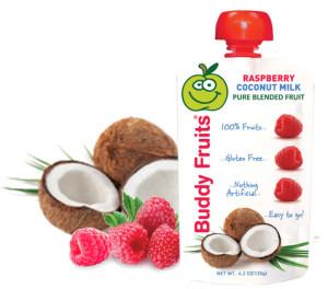 coconut raspberry