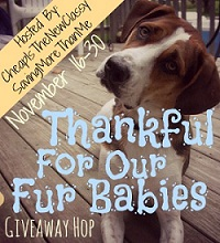 Thankful for our Furbabies hOp