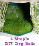 6 Simple DIY Dog Beds