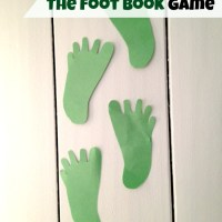 Dr. Seuss Game - Foot Book Game