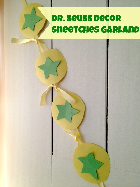 Dr. Seuss Decorations: Sneetches Garland