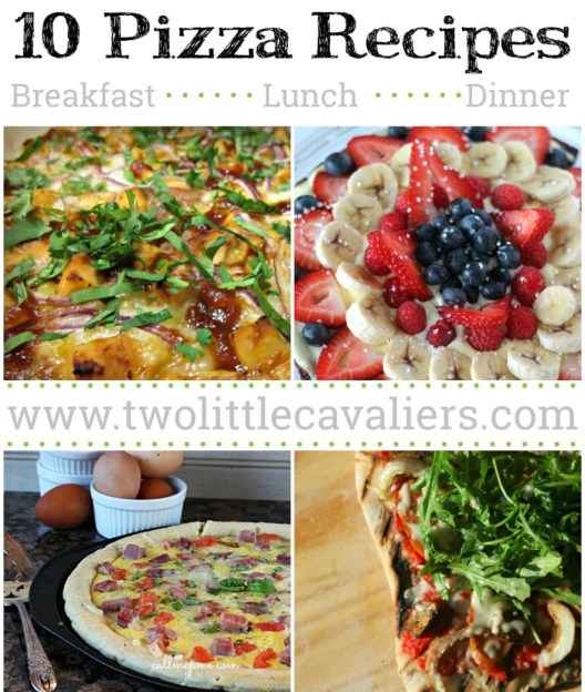 10 Pizza #Recipes for your next #Pizza Party or Family Dinner