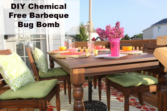 DIY Chemical Free Barbeque Bug Bomb