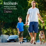 New App Helps You Get Moving Raise Money for Animal Rescue #walk4animals