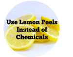 Use Lemon Peels Instead of Chemicals #LifeHacks