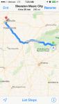 Mini Cooper Route to BlogPaws