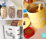 Creative Dog Food Storage Ideas