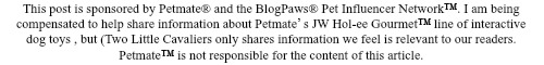 Petmate sponsored post disclosure