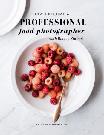 How to become a professional food photographer with Rachel Korinek
