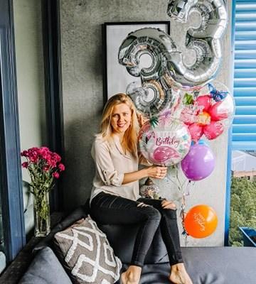 urodziny z balonami