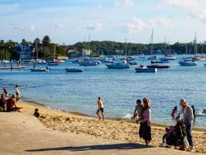 plaża i łódki
