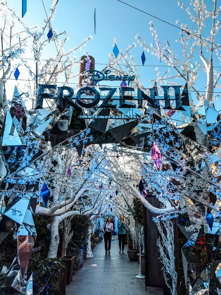 dekoracje Frozen