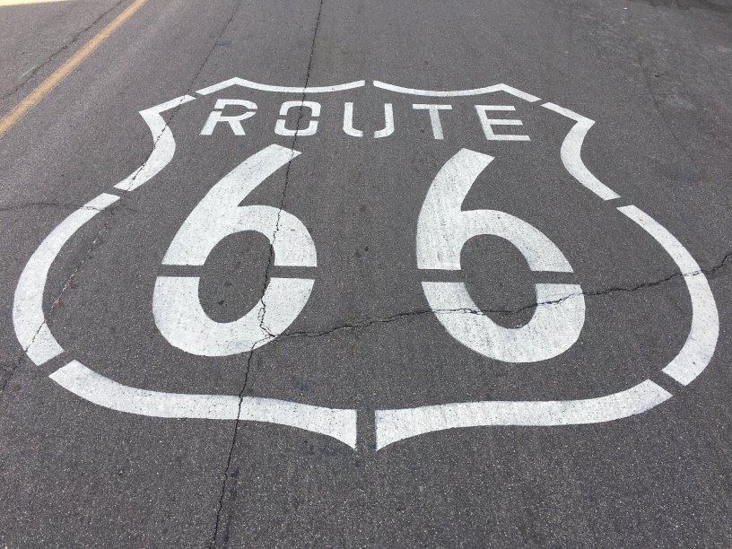 Photo of Route 66 in Needles, CA