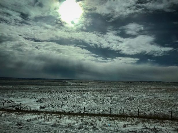 Photo of Snow and Sun