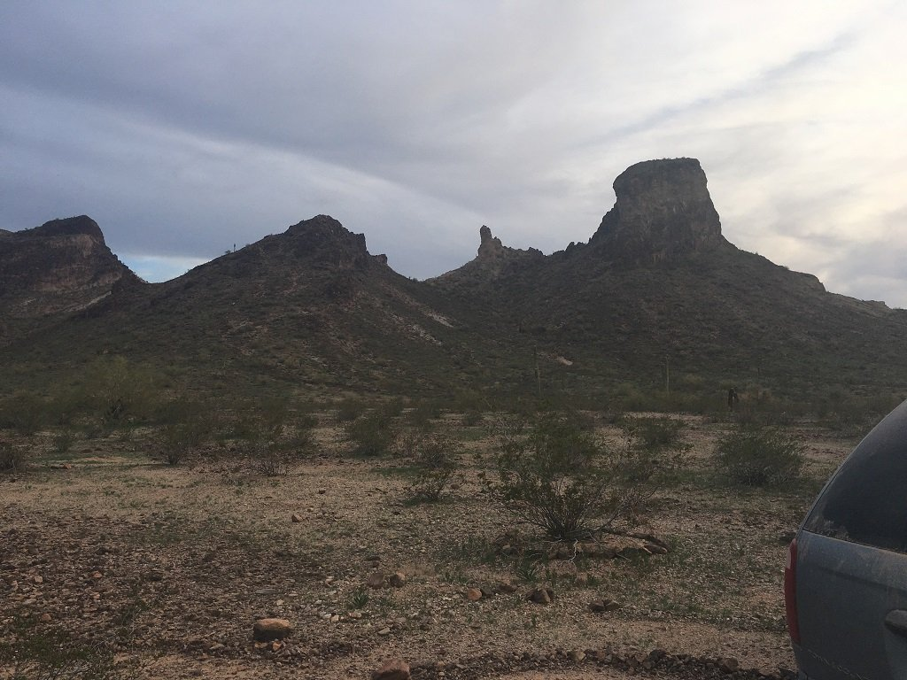 Campsite Review: Saddle Mountain BLM Area Near Tonopah, Arizona