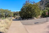 Photo: Group camping areas at Aguirre Spring Campground