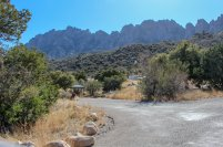 Photo: The Needles at Aguirre Spring Campground